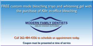 Modern Family Dentists Kenosha Tooth Bleaching Coupon